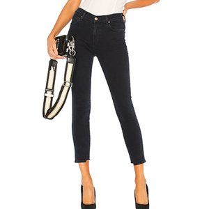 Citizens of Humanity High Crop Skinny in Black